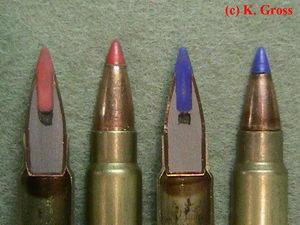Ammunition Cross Sections