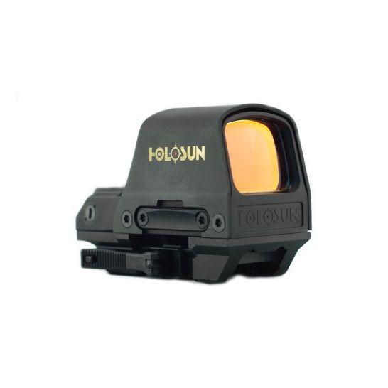 Holosun Reflex Sight, Circle Dot Reticle with Solar & QD