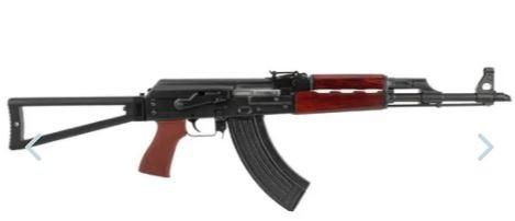 "Zastava ZPAP M70 7.62x39 AK-47 - Triangle Folder - Chrome Lined - Bulged Trunnion - 16"""