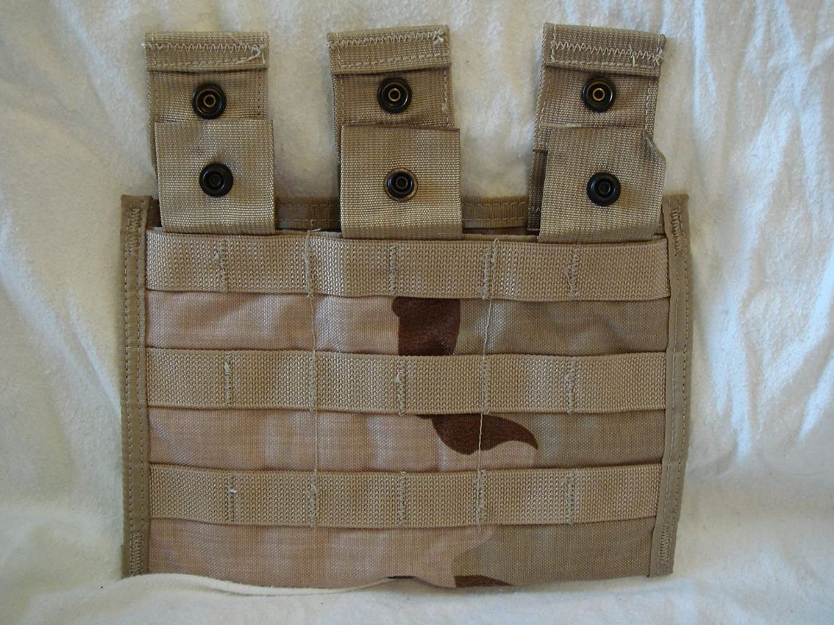 Military Surplus MOLLE II Desert Triple 3 Mag Ammo Pouch