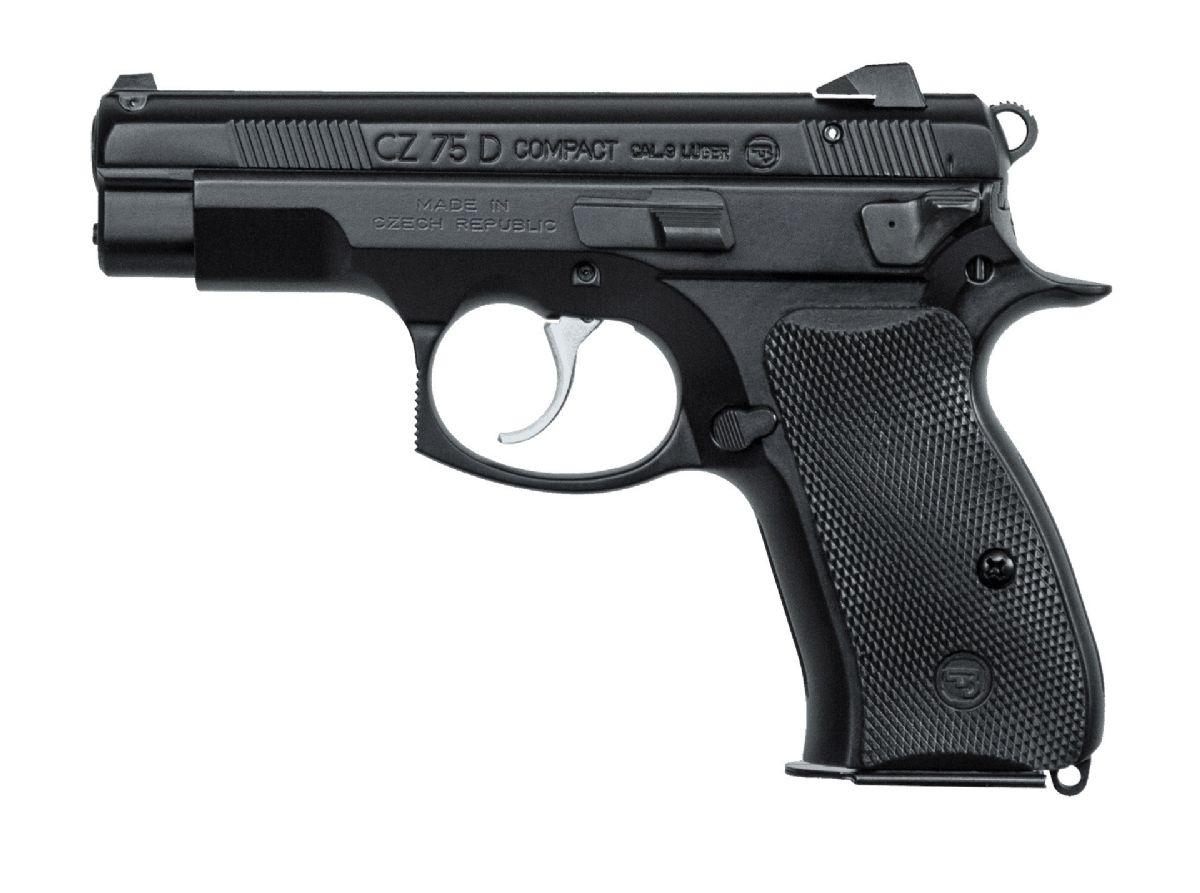 CZ-USA 75D 9mm 3.8in Black 14rd