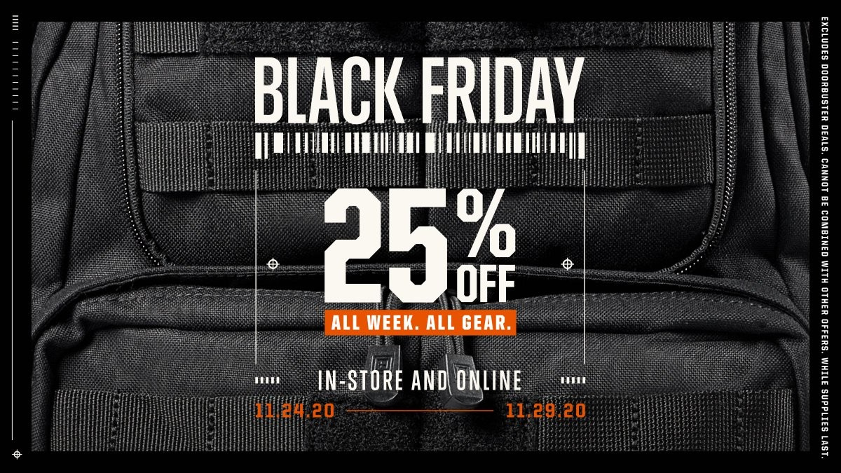 5.11 Tactical, 25-60%  OFF - Ends 11/29