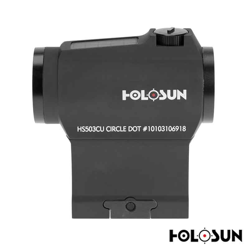 Holosun HS503CU Red Circle Dot Sight - Free Shipping