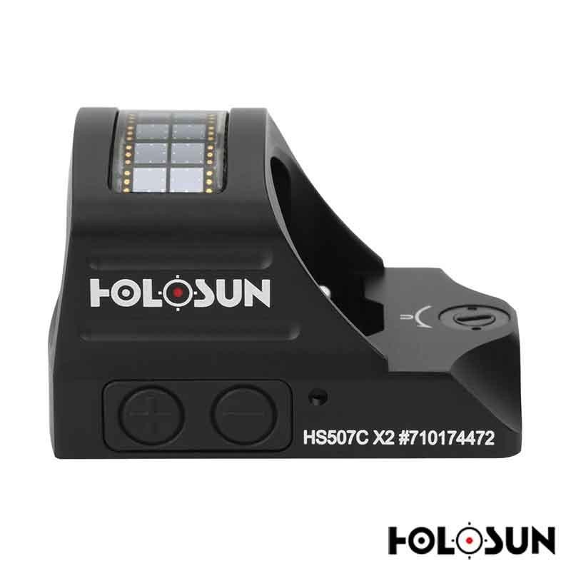 Holosun HS507C-X2 Red Circle Dot Sight - Free Shipping