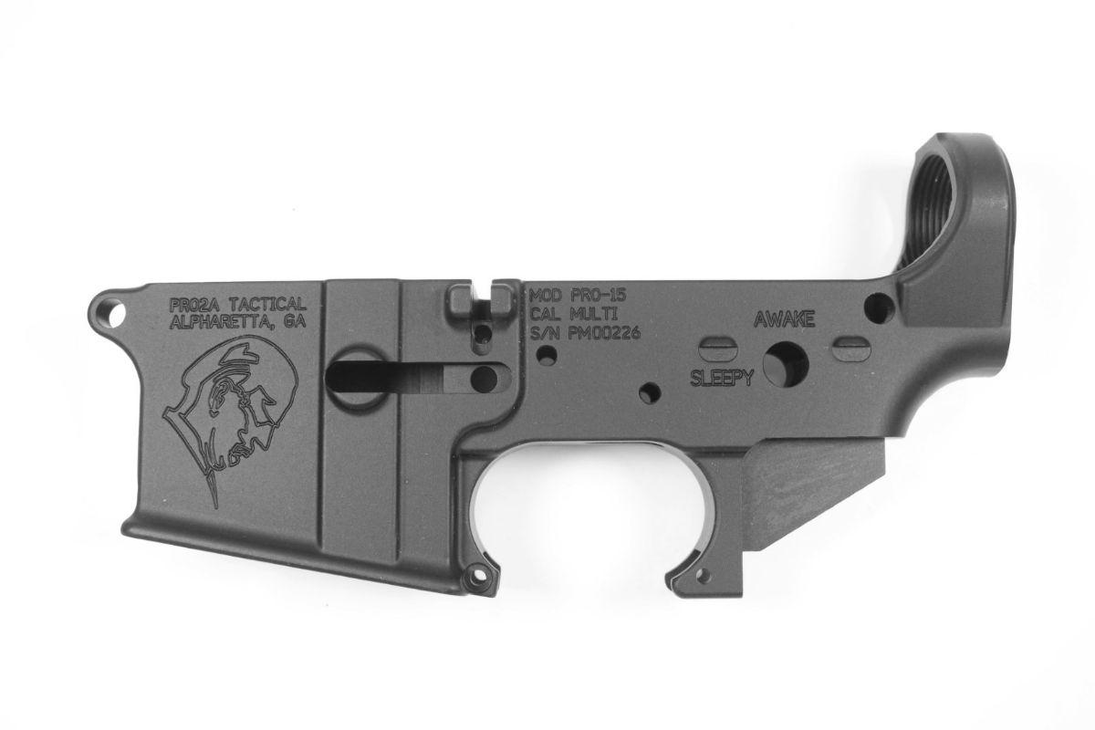 "PRO2A ""SLEEPY JOE"" AR-15 STRIPPED LOWER RECEIVER"