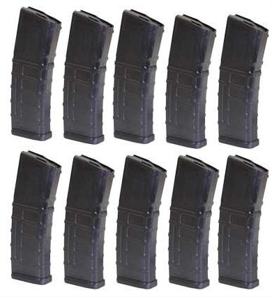 10x pack of Magpul Industries 30 round PMAGs for $10.99/ea with code PTT
