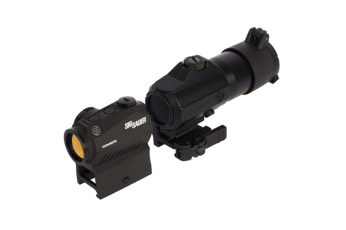 SIG Sauer ROMEO5 Red Dot Sight with JULIET3 3x Magnifier