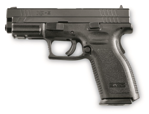 """Springfield XD Defender Series 4"""" Full-size, Semi-automatic, 9mm, 4"""" Barrel, 16+1 Rounds"""