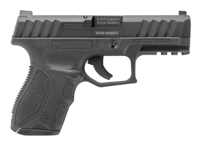 STOEGER STR-9 9mm 3.8in Black 13rd