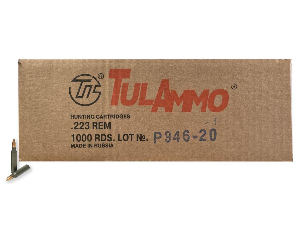 Tula .223 Ammo WHILE SUPPLIES LAST! $399.99 per case