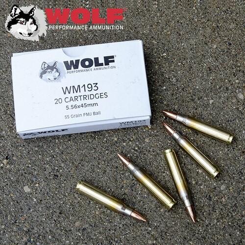 Wolf White Box M193