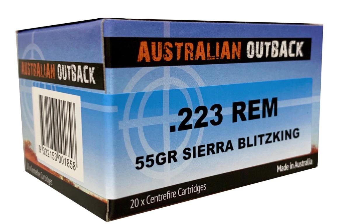 ADI 223 Remington, 55gr Sierra BK, 20rds