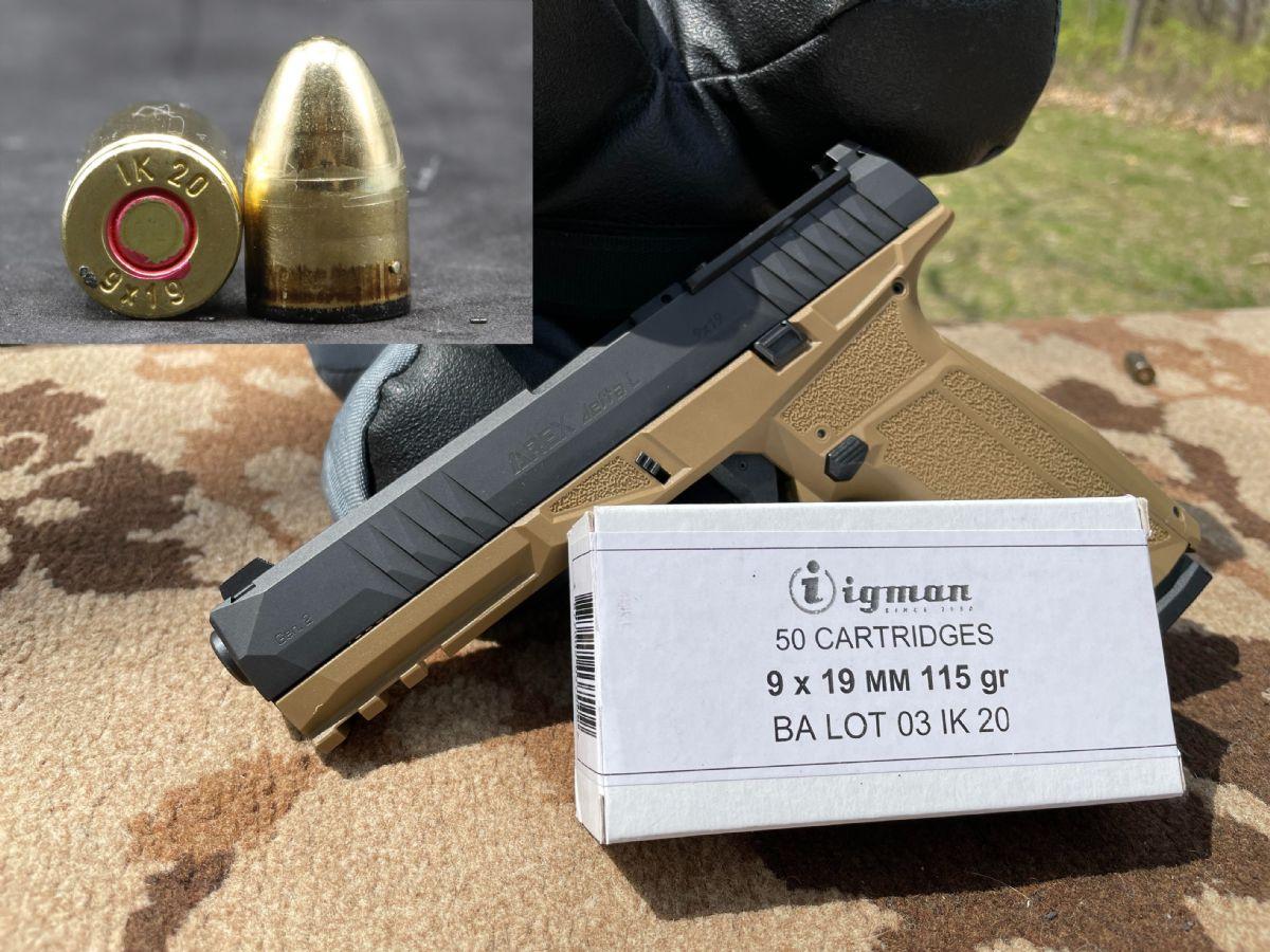 1500rd Ammo Box, Igman 9mm, 115gr FMJ