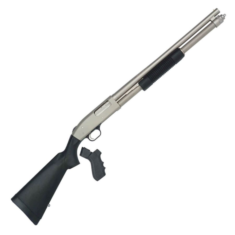 Mossberg 590 Mariner Marinecote 12 Gauge 3in Pump Shotgun - 20in