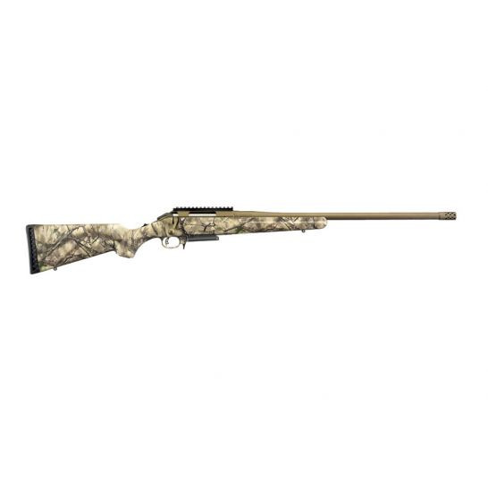"Ruger American 22"" 7mm-08 Bolt Action Rifle, Go Wild Camo"