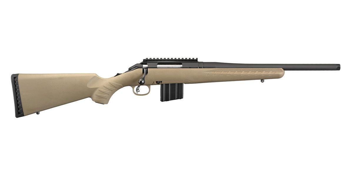 Ruger American Ranch .350 Legend Bolt Action Rifle, Flat Dark Earth