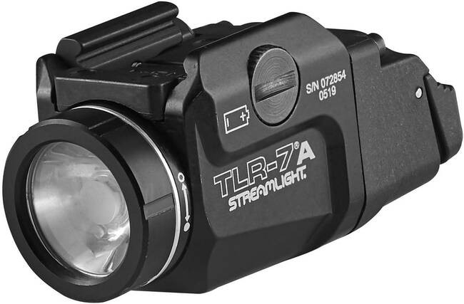 STREAMLIGHT TLR-7A 500 LUMEN WEAPON LIGHT WITH HIGH SWITCH 69423