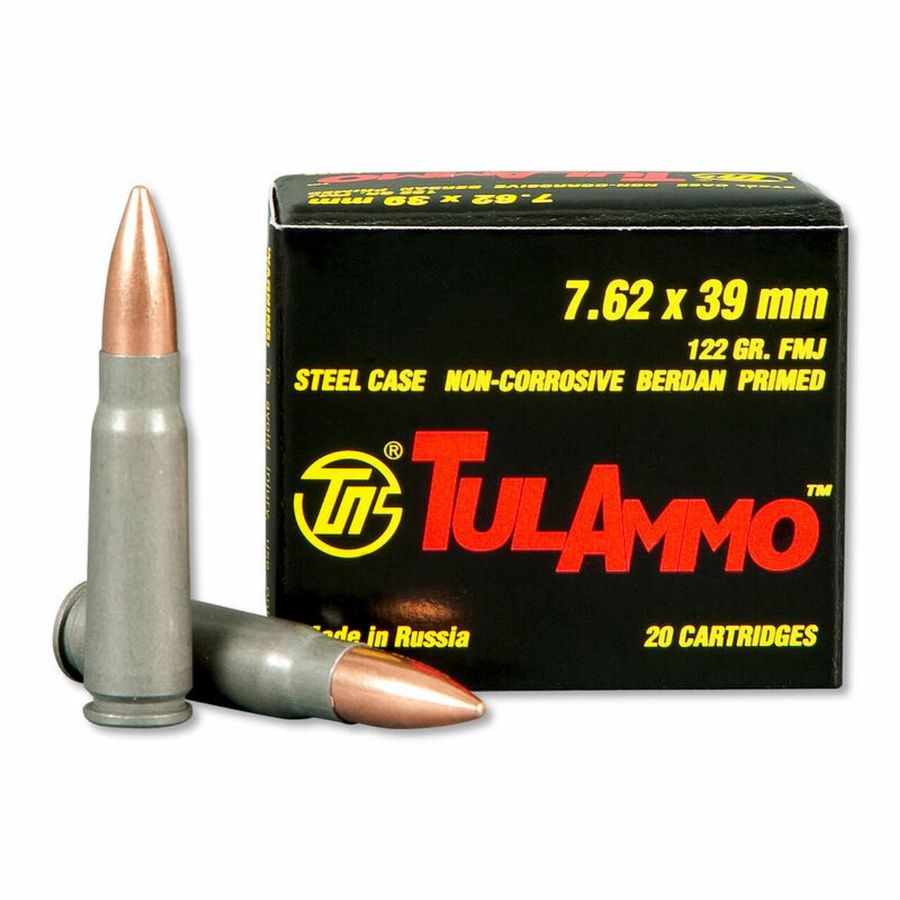 In Stock! 7.62x39mm Ammo by the case!